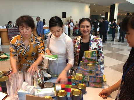 Viet Nam tham gia le hoi Tra va Cafe tai Lien Hiep Quoc - Anh 1