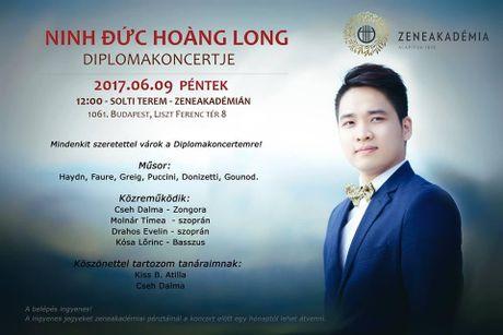 Ca sy tre Viet Nam vao vai dien opera tren san khau Hungary - Anh 3