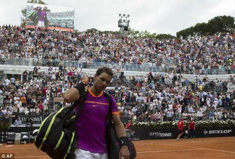 Thua soc o Rome Masters, Nadal lo hen vuot Djokovic - Anh 1
