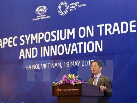 Hoi nghi APEC ve thuong mai va sang tao - Anh 1