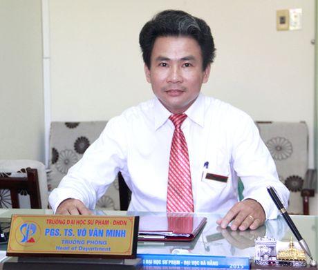 Du thao chuong trinh GDPT tong the: Xay dung tren nen tang triet ly GD con nguoi toan dien - Anh 1