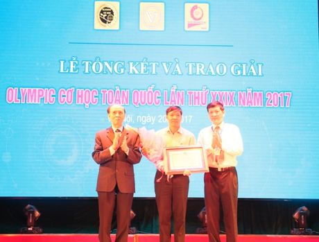 242 ca nhan doat giai Olympic Co hoc toan quoc nam 2017 - Anh 1
