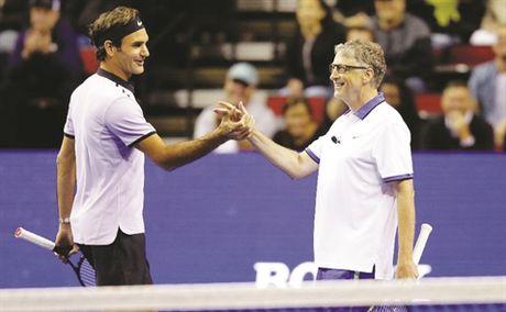 Khi Bill Gates thua Federer - Anh 1