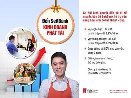 SeABank trien khai chuong trinh uu dai lai suat cho vay hap dan - Anh 1