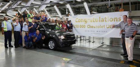 Chevrolet quyet dinh rut khoi An Do va Nam Phi - Anh 1