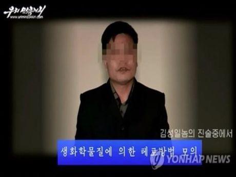 Trieu Tien cong bo anh nguoi am muu giet Kim Jong-un - Anh 1