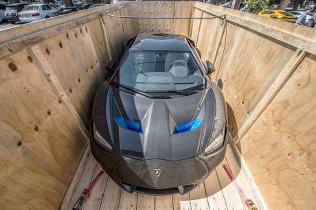 Sieu xe hang hiem Lamborghini Centenario dau tien den My - Anh 1