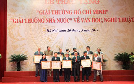 Giai thuong Ho Chi Minh, Giai thuong Nha nuoc ve van hoc nghe thuat dot 5 vinh danh 113 tac gia - Anh 2