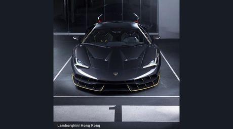 Chiec Lamborghini Centenario dau tien da co mat tai chau A - Anh 2