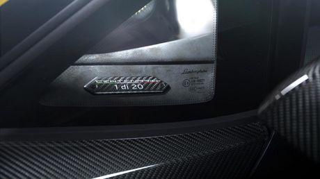 Chiec Lamborghini Centenario dau tien da co mat tai chau A - Anh 4