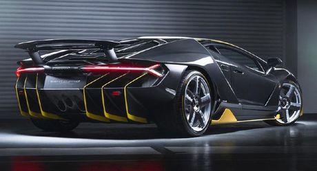 Chiec Lamborghini Centenario dau tien da co mat tai chau A - Anh 7
