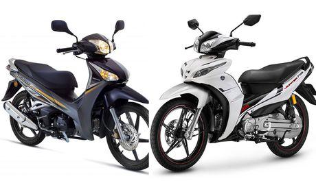 30 trieu nen mua xe may Honda hay Yamaha? - Anh 1