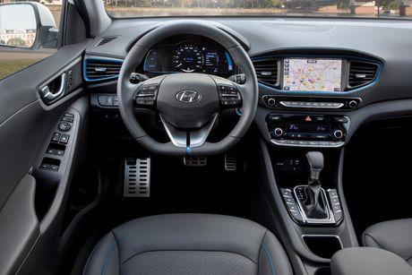 Hyundai mo ban Ioniq Hybrid sac dien tai chau Au - Anh 6