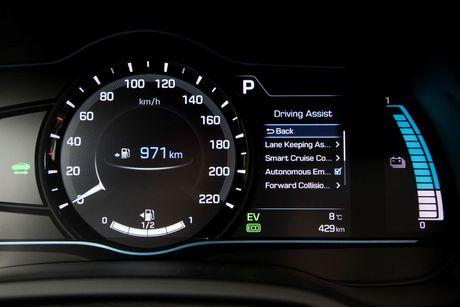 Hyundai mo ban Ioniq Hybrid sac dien tai chau Au - Anh 7