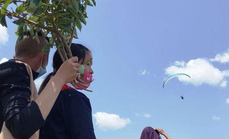 Man du luon dep nhu tranh tren diem bay Khau Pha - Anh 14