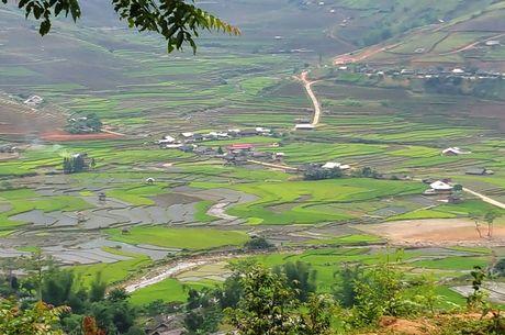 Man du luon dep nhu tranh tren diem bay Khau Pha - Anh 4