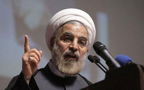 Tong thong Nga gui dien mung ong Rouhani tai dac cu Tong thong Iran - Anh 1