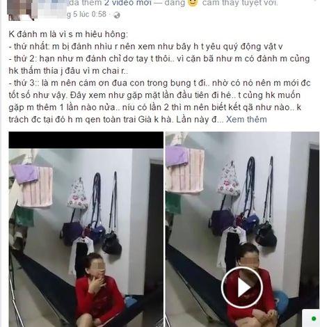 Man danh ghen 'khong the lich su hon' cua vo bau vuot mat - Anh 1