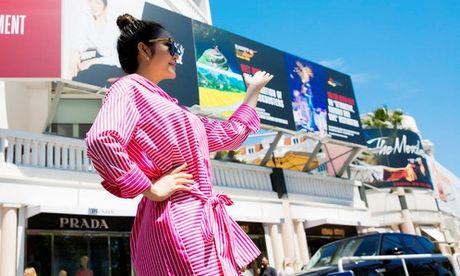 Chuyen sao: Tam pano cua Ly Nha Ky voi nghi an PR lo tai Cannes - Anh 1
