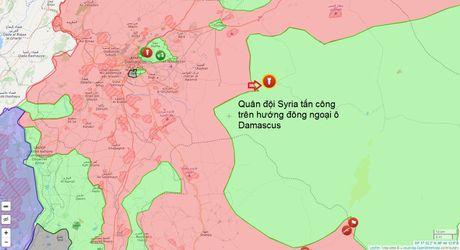 Quan doi Syria tan cong du doi phe thanh chien o dong Damascus - Anh 2