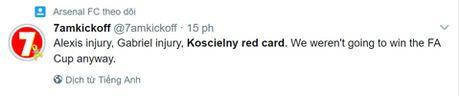Arsenal xep thu 5 chung cuoc, mat luon Koscielny o Chung ket FA Cup - Anh 2