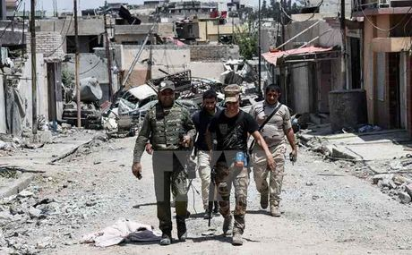 Iraq day manh chien dich tieu diet thanh tri cuoi cua IS - Anh 1