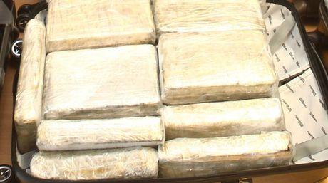 Canh sat Argentina thu giu 2 tan cocaine tri gia 60 trieu USD - Anh 1
