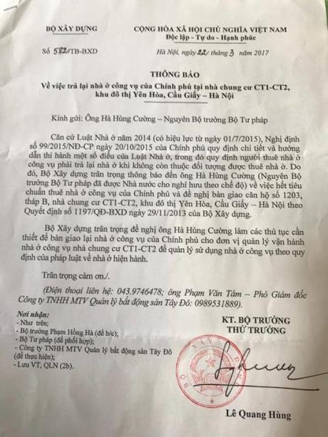 Ong Ha Hung Cuong trong dien duoc xet mua nha xa hoi - Anh 2