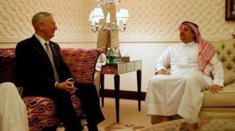 Sau thuong vu vu khi voi My, Qatar tu tin dam phan - Anh 2