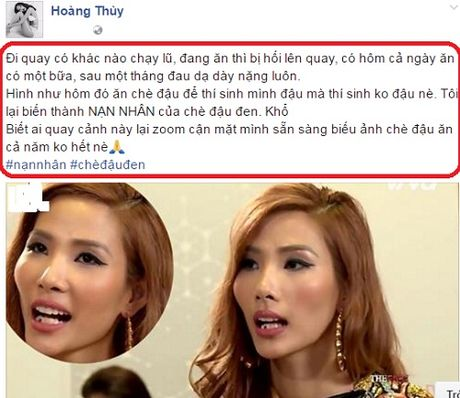 Mc Phan Anh phan ung the nay ve su co cua Hoang Thuy - Anh 4