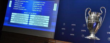 Boc tham chia cap vong loai Champions League 2017/18 - Anh 1