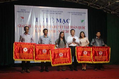 Giai The thao nguoi khuyet tat nam 2017: Thanh pho Ho Chi Minh dan dau toan doan - Anh 1