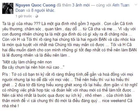 Chia tay nhung Ho Ngoc Ha - Cuong Do La van gan bo nhu gia dinh - Anh 4