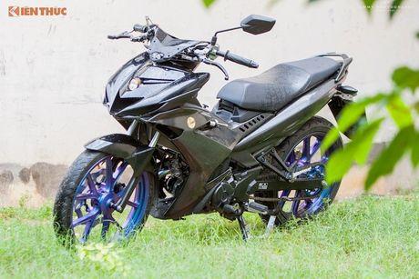 Yamaha Exciter full carbon 'kich doc' cua dan choi Viet - Anh 1