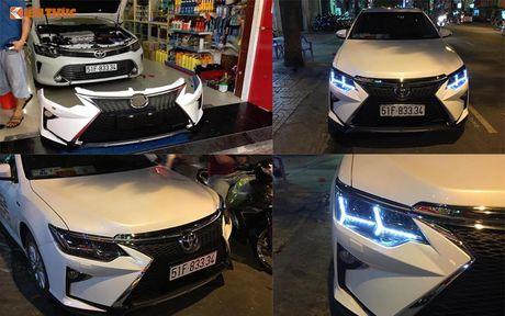 Toyota Camry 'bien hinh' Lexus gia chi 35 trieu tai VN - Anh 6