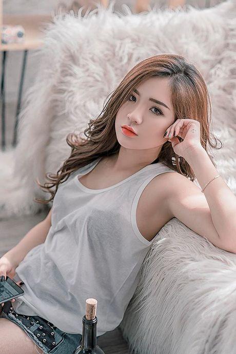 Nhan sac dep tua trang ram cua nu sinh Hai Duong - Anh 8