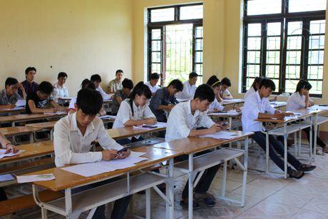 Thanh Hoa: De thi da ve den cac diem thi an toan - Anh 1