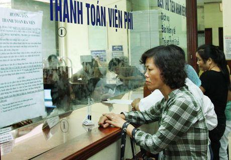 Hom nay, hon 50 benh vien dieu chinh tang vien phi - Anh 1