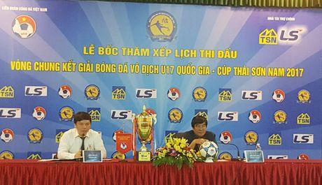 150 trieu dong tien thuong Giai Bong da U17 quoc gia nam 2017 - Anh 1
