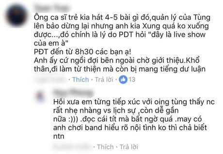 He lo su that sau clip Phan Dinh Tung bi to chen ep, cuop mic cua 'dan em' tren san khau? - Anh 3