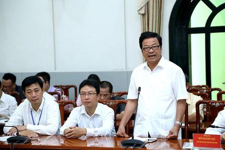 Chu tich Nguyen Thien Nhan du le ra mat Tap chi dien tu Mat tran - Anh 2