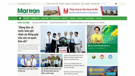 Chu tich Nguyen Thien Nhan du le ra mat Tap chi dien tu Mat tran - Anh 5