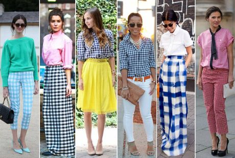 Hoa tiet Gingham - hot trend cho cac co gai he nay - Anh 5