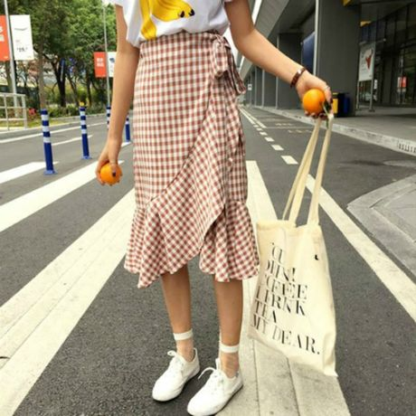 Hoa tiet Gingham - hot trend cho cac co gai he nay - Anh 7