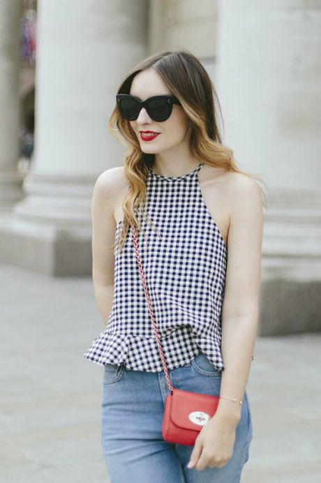 Hoa tiet Gingham - hot trend cho cac co gai he nay - Anh 8