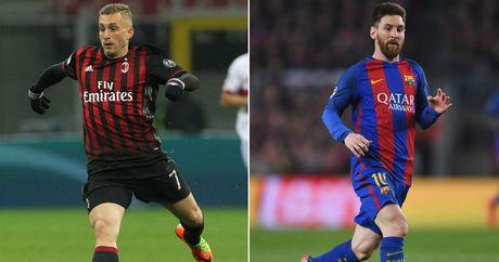 """Doc tai"" Messi dan mat Barca, chan cua ve cua dan em - Anh 1"