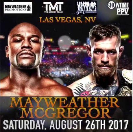 Boxing ty do: Mayweather xo gang luyen vo, cho dam guc McGregor - Anh 1