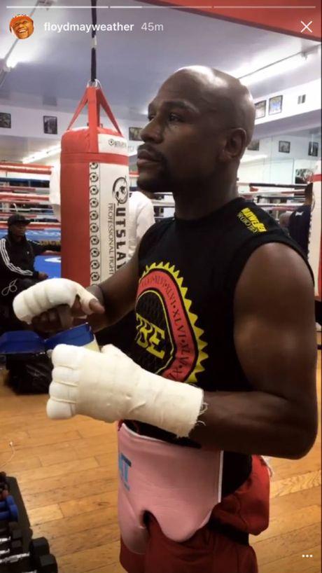 Boxing ty do: Mayweather xo gang luyen vo, cho dam guc McGregor - Anh 2