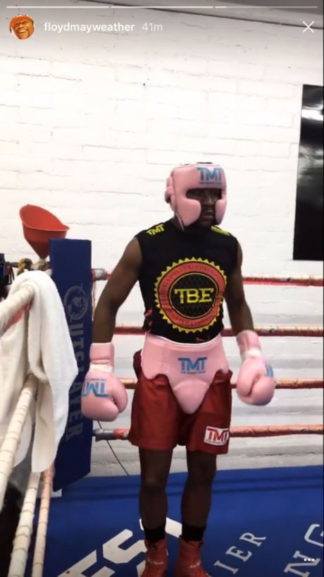 Boxing ty do: Mayweather xo gang luyen vo, cho dam guc McGregor - Anh 3