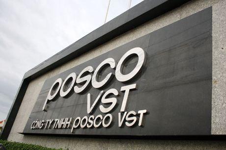 Thep Posco duoc cong nhan doanh nghiep uu tien ve hai quan - Anh 1